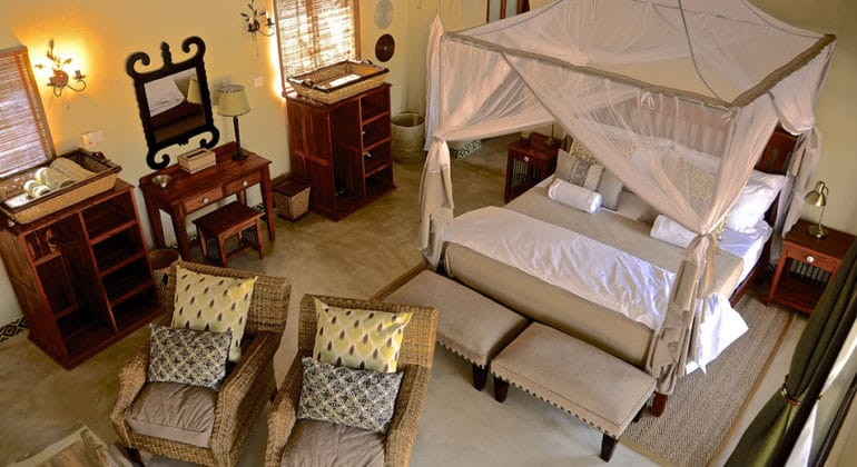 Camelthorn Lodge Bedroom