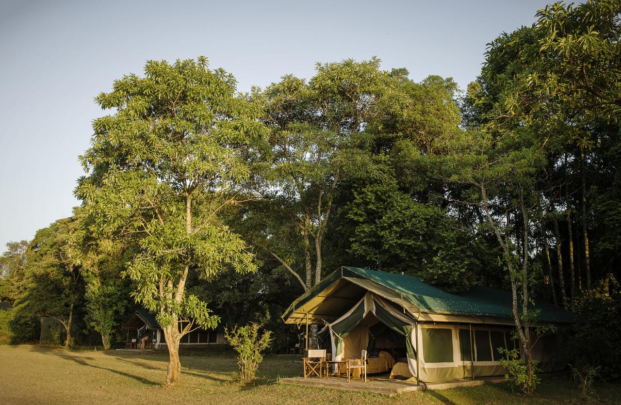 Governors' Camp Tent