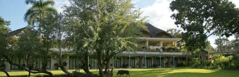 Ilala Lodge Front View
