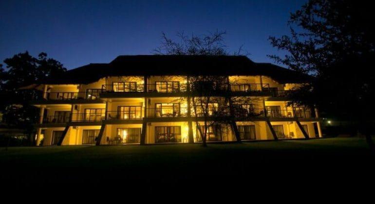 Ilala Lodge View At Night