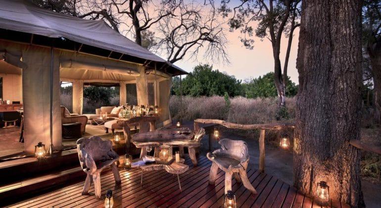Linyanti Ebony Outdoor Lounge