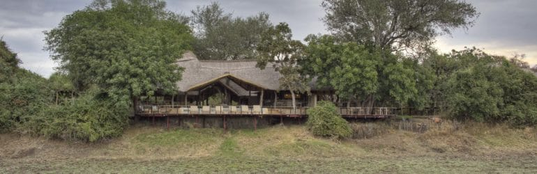 Lion Camp By Mantis Exterior View Of The Main Lodge