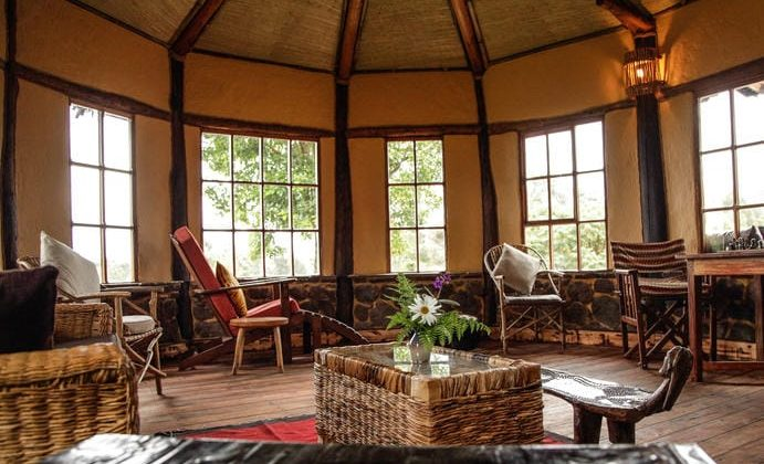 Mount Gahinga Lodge Room