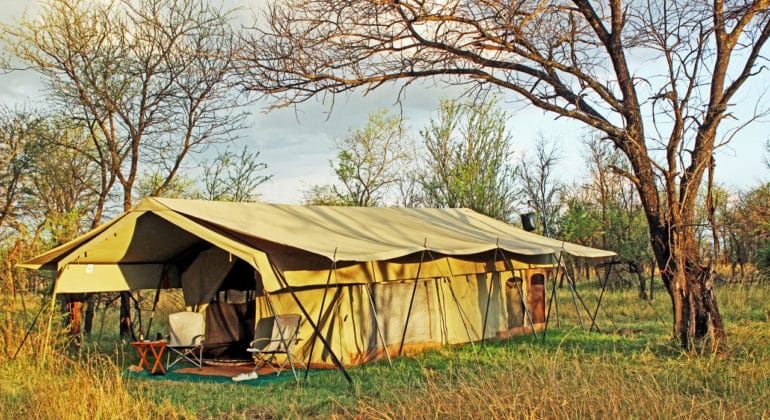 Ndutu Wilderness Camp Tent