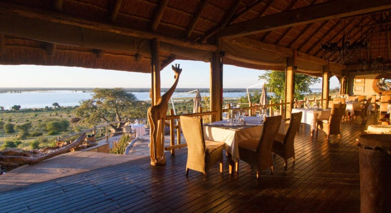 Ngoma Safari Lodge Breakfast