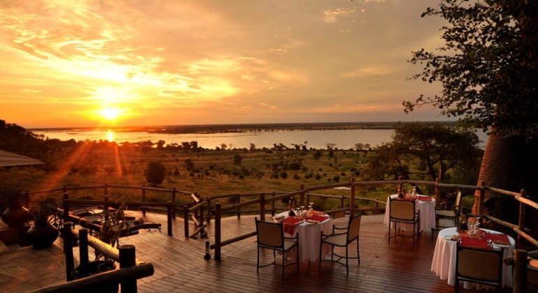 Ngoma Safari Lodge Sunset