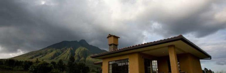Sabyinyo Silverback Lodge View