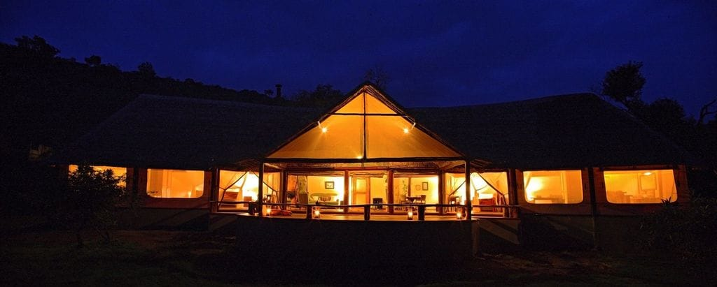 Saruni Mara View Of Lodge