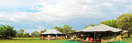 Serengeti North Wilderness Camp View