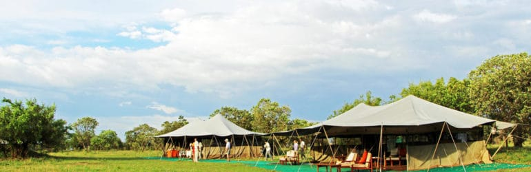 Serengeti North Wilderness Camp View
