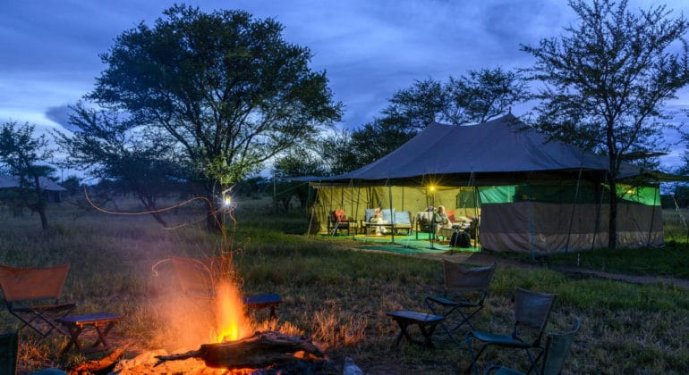 Serengeti Wilderness Camp View