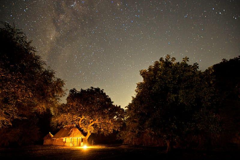 Tafika Camp At Night