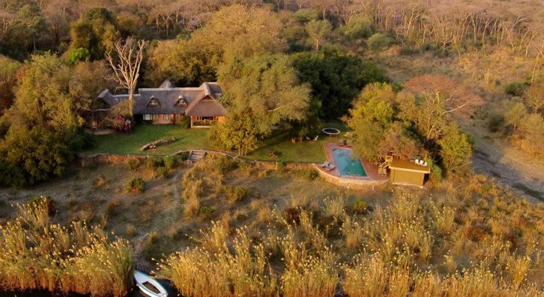 Tangala House Aerial View