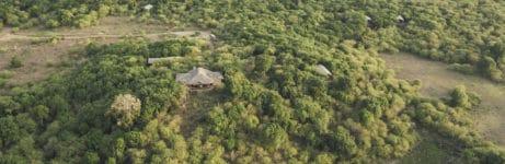 Tangulia Mara Camp Aerial View