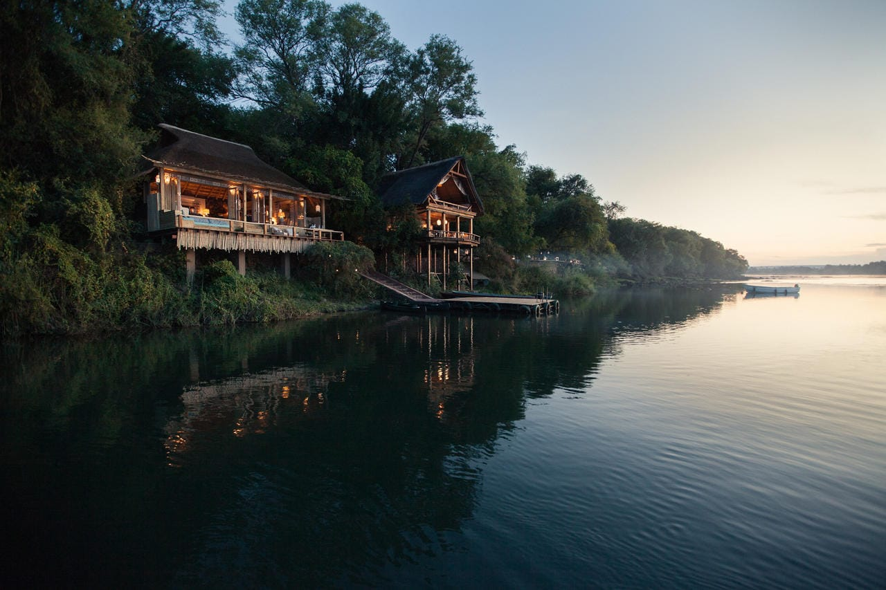 Tongabezi Lodge View