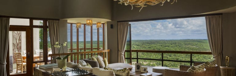 Ulusaba Cliff Lodge Lounge