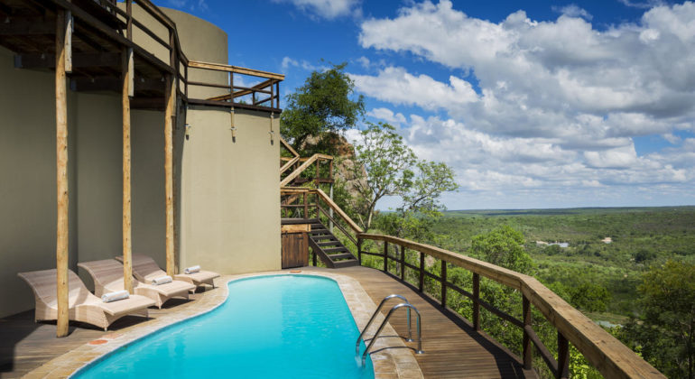 Ulusaba Cliff Lodge Pool