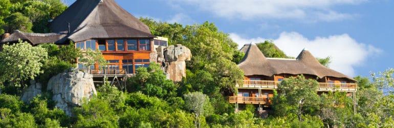 Ulusaba Rock Lodge View