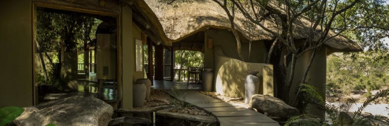 Ulusaba Safari Lodge Entrance