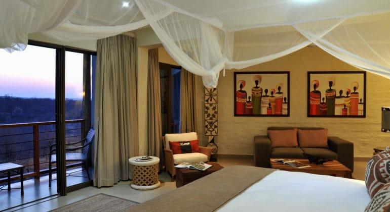 Victoria Falls Safari Club Interior