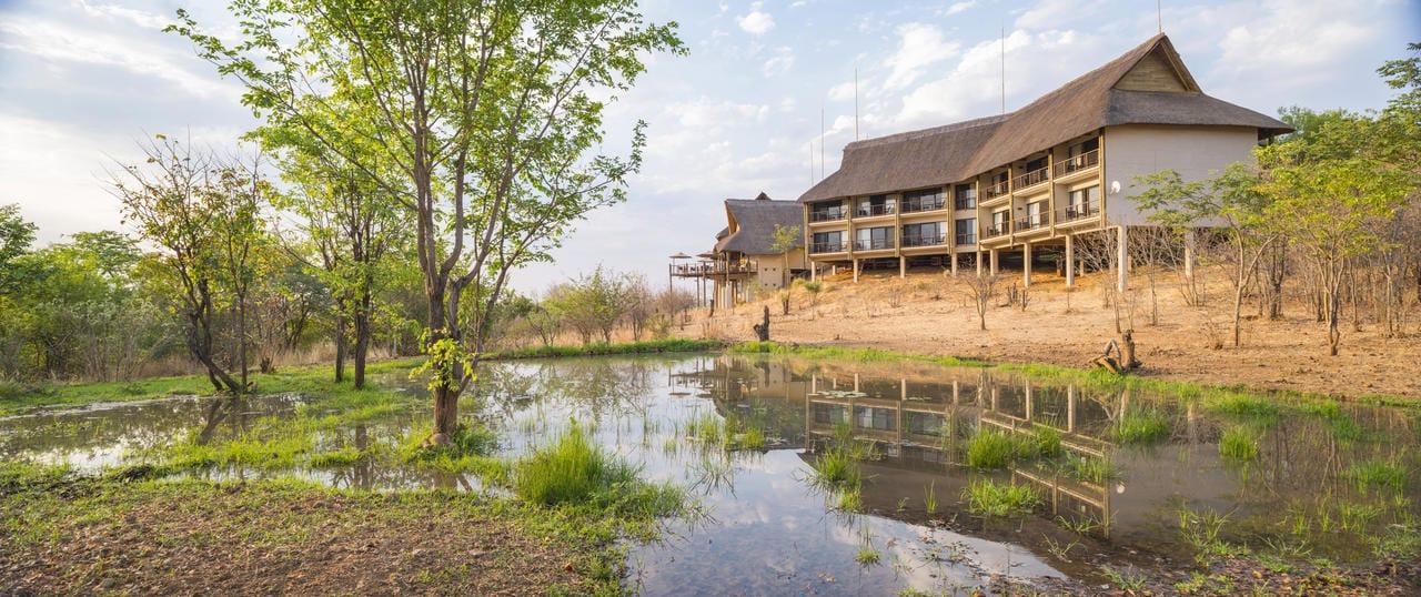 Victoria Falls Safari Club View