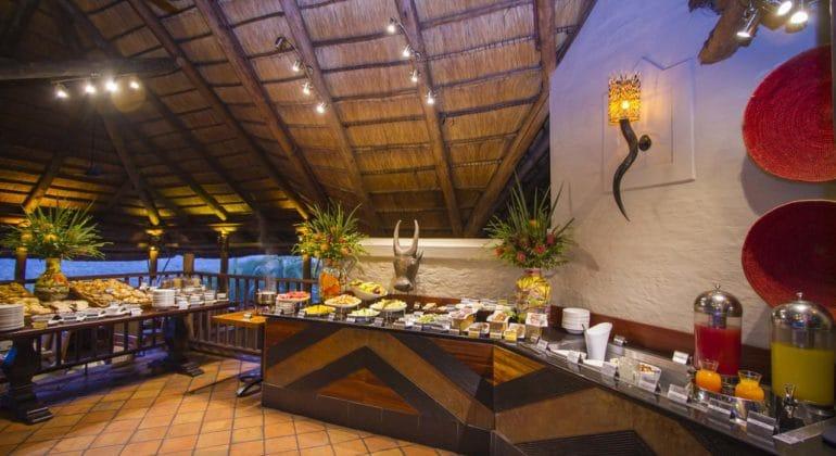 Victoria Falls Safari Lodge Buffet