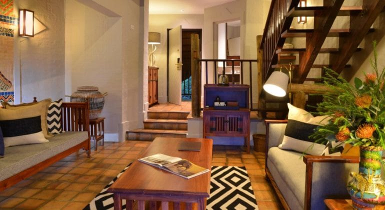 Victoria Falls Safari Lodge Living Area