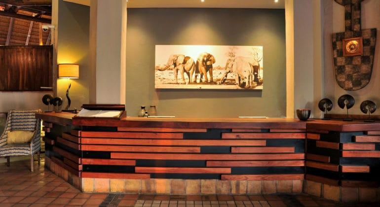 Victoria Falls Safari Lodge Reception
