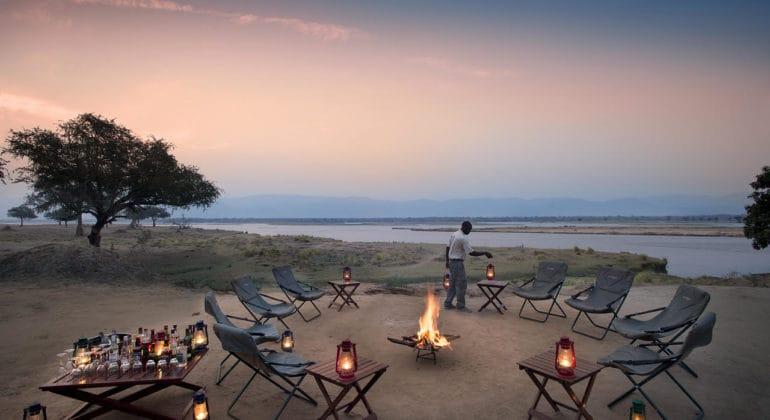 Zambezi Expeditions Campfire