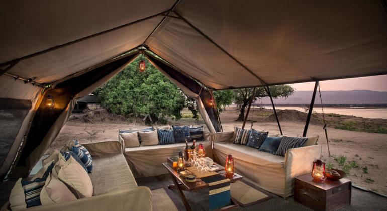 Zambezi Expeditions Lounge