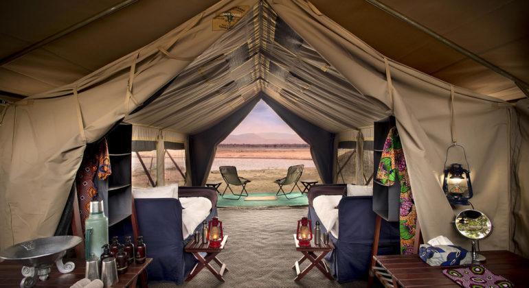 Zambezi Expeditions Tent View