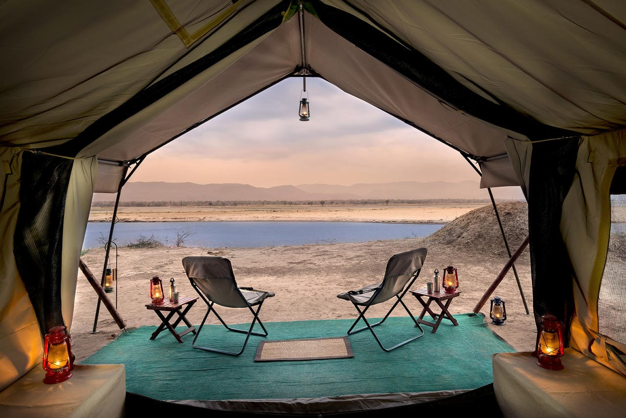Zambezi Expeditions View From Tent