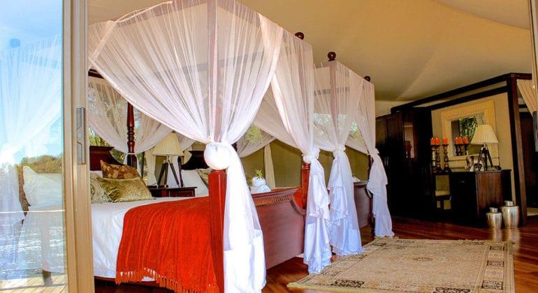 Zambezi Sands River Camp Bedroom