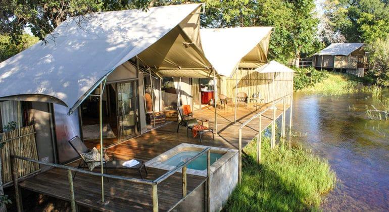 Zambezi Sands River Camp View 1