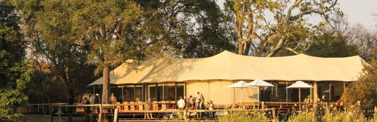 Zambezi Sands River Camp View