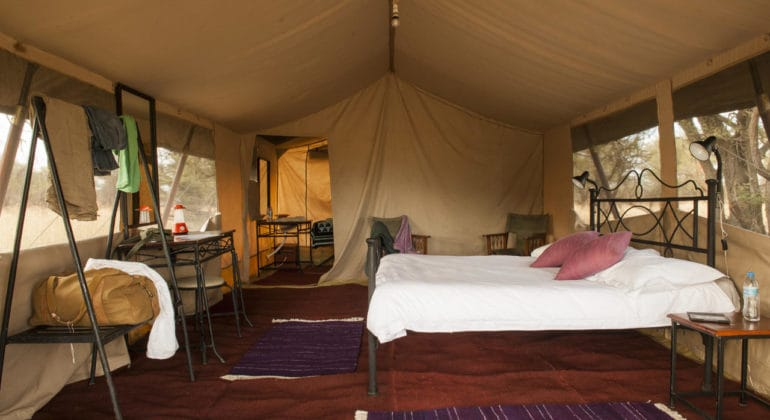 Bologonya Under Canvas Tent Interiors