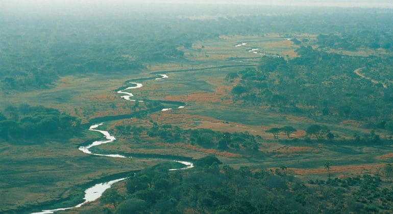 Chada Katavi Aerial View