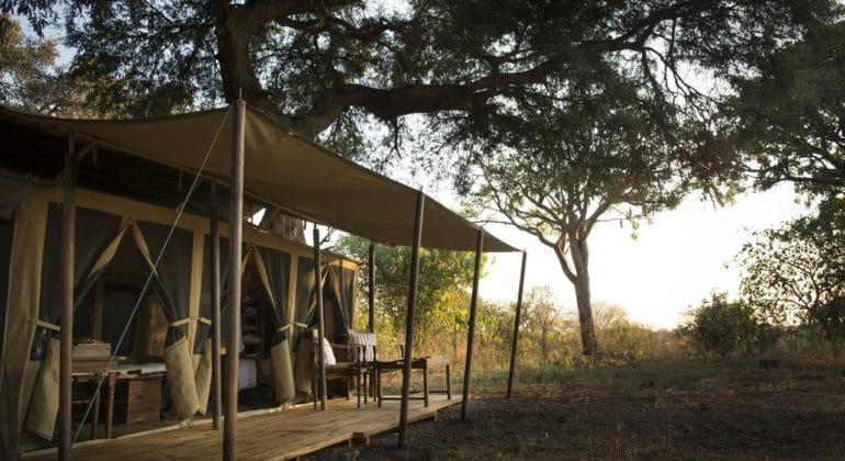 Chada Katavi Tent View