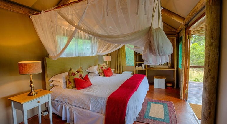 Chapungu Tented Bush Camp Interiors