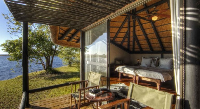 Chobe Savanna Lodge Deck