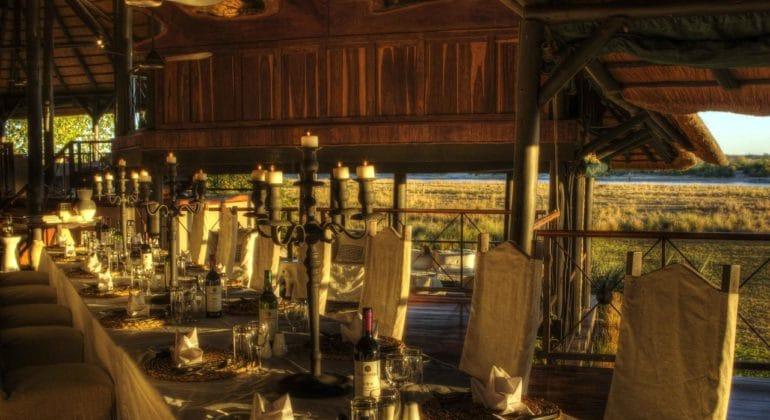 Chobe Savanna Lodge Dining