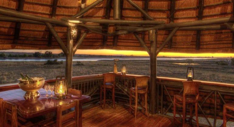 Chobe Savanna Lodge Viewing Deck