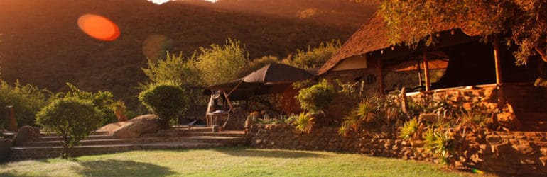 Desert Rose Lodge Overall View