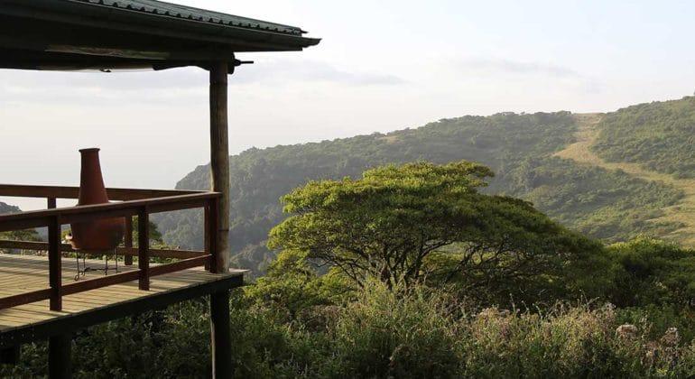 Gelai Mountain Camp View