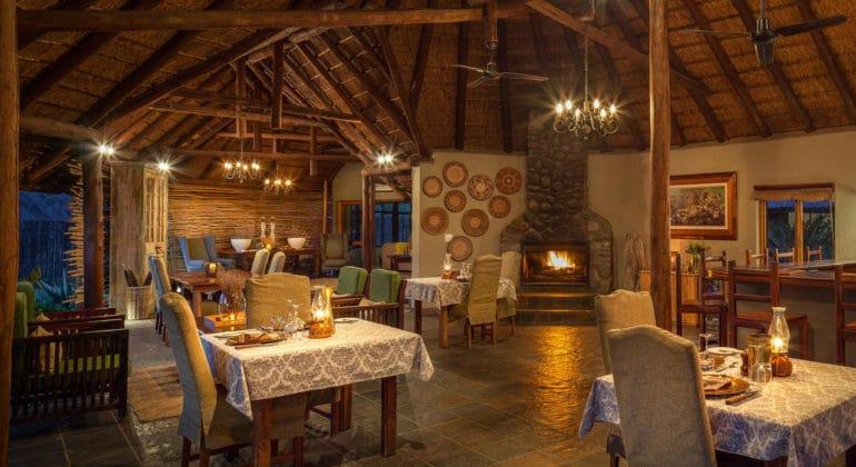 Jackalberry Lodge Dining