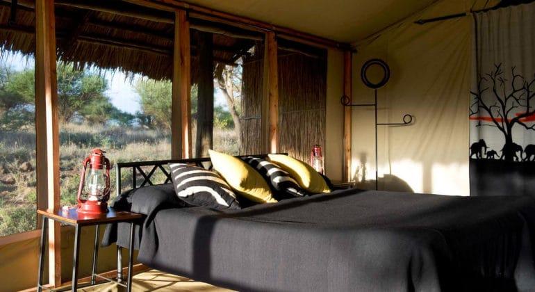 Kambi Ya Tembo Tent View