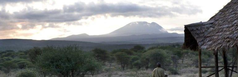 Kambi Ya Tembo View From Camp