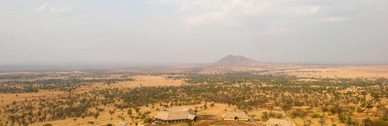 Kubu Kubu Tented Camp Aerial View