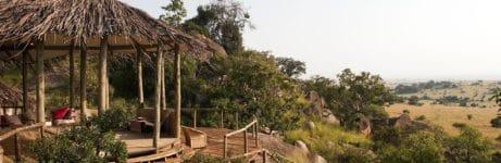 Lamai Serengeti Lodge View
