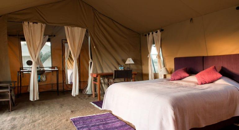 Mara Under Canvas Tent Interior